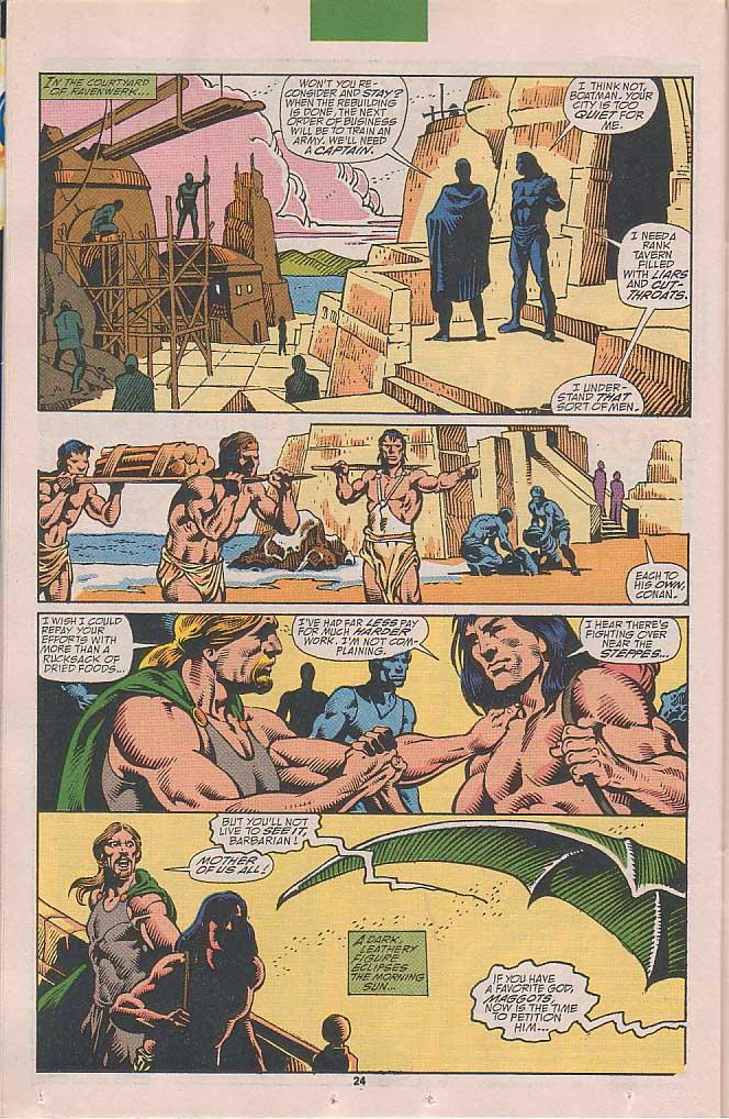 Conan the Barbarian (1970) Issue #251 #263 - English 18