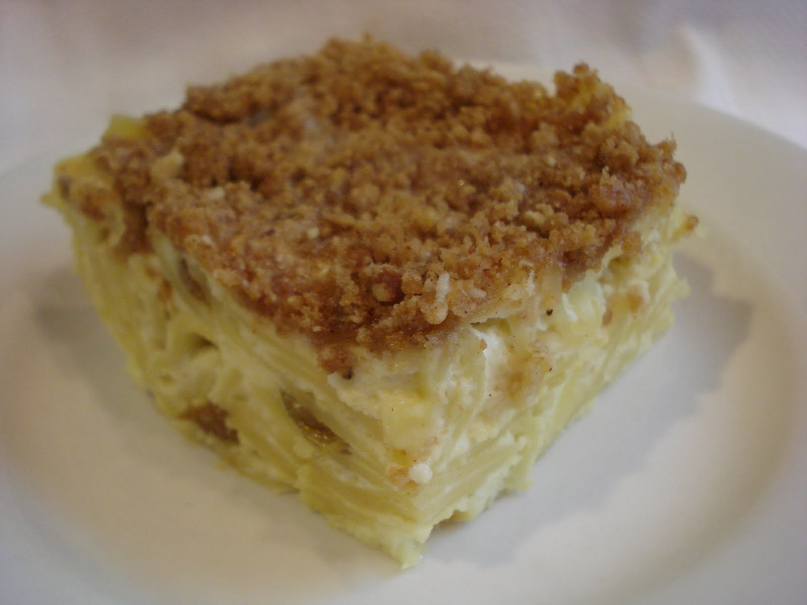 ... noodle kugel and yes there are lots of recipes out there for noodle