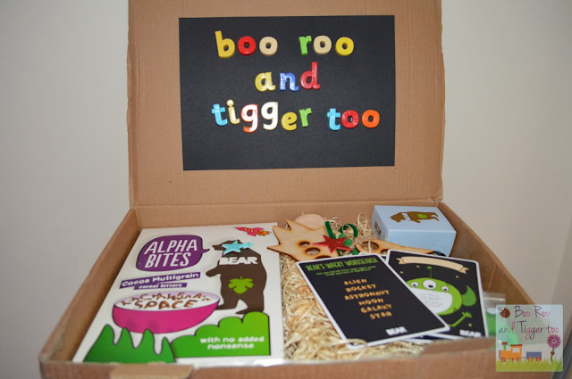 Boo Roo and Tigger Too BEAR Alphabites Cereal Package