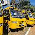 Vereadores de Valparaíso de Goiás prestigiam a entrega de dois novos ônibus escolares para o munícipio
