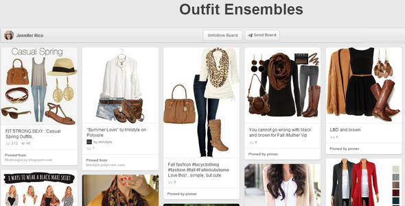 board pinterest outfit ensemble