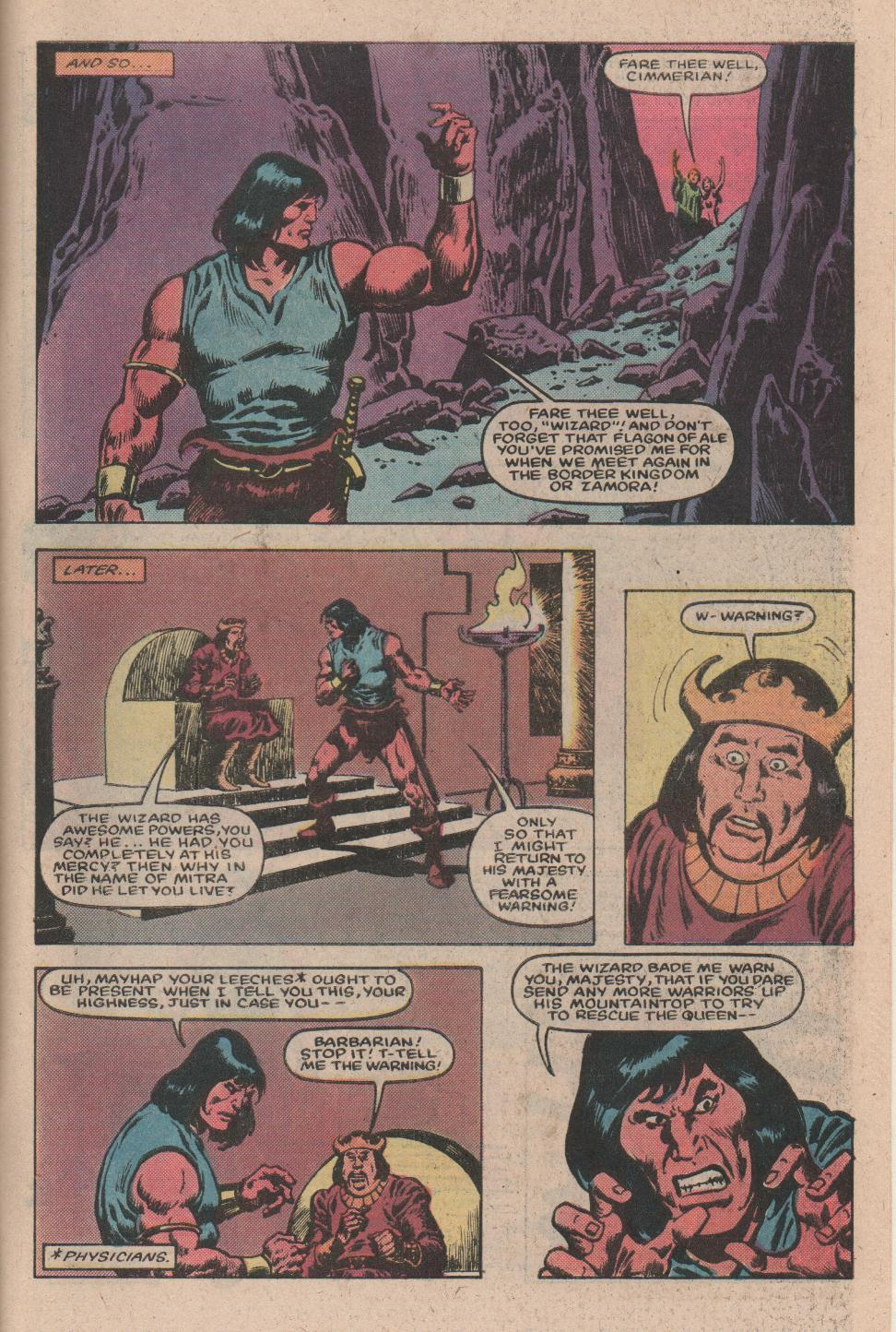 Conan the Barbarian (1970) Issue #157 #169 - English 22