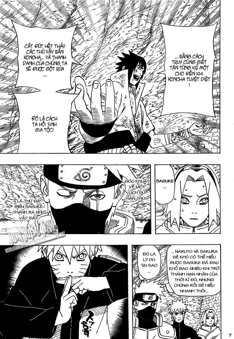 Naruto chap 485 Trang 7 - Mangak.info