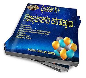 """O livro """"Quasar K+"""" em pré-lançamento"""