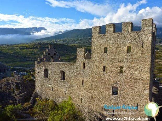 قلعة توربيون سويسرا