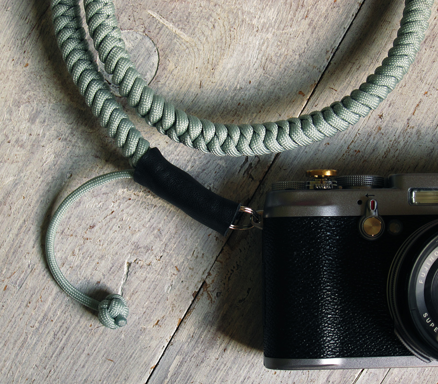 Titanium Grey Cord Camera Strap - Photograph by Tim Irving