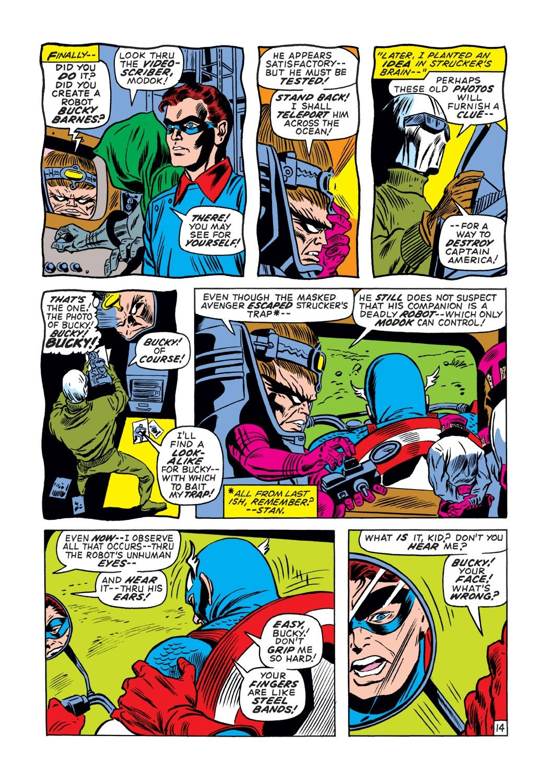 Captain America (1968) Issue #132 #46 - English 14