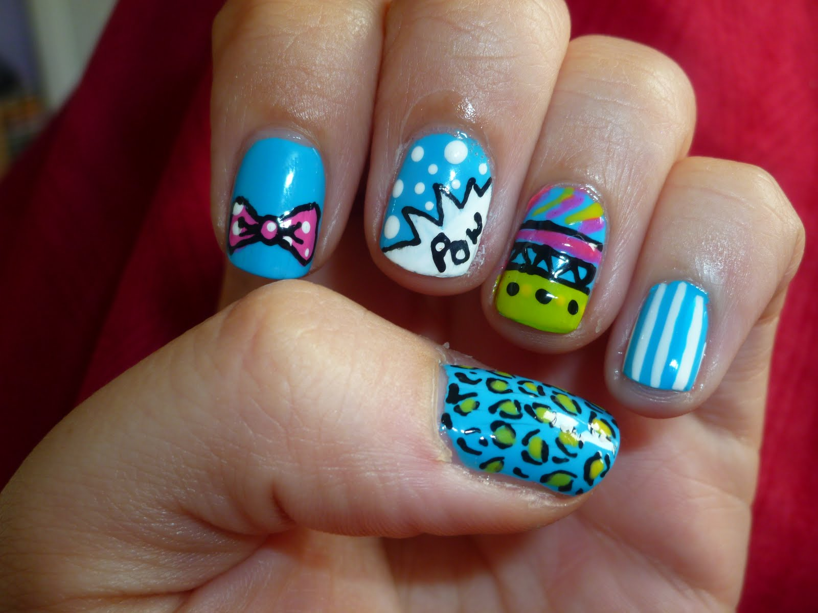 Little Girl Nail Designs Car Tuning