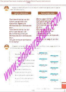 6.Sinif  Turkce Doku Yayinlari Ogrenci Calisma Kitabi Sayfa 139