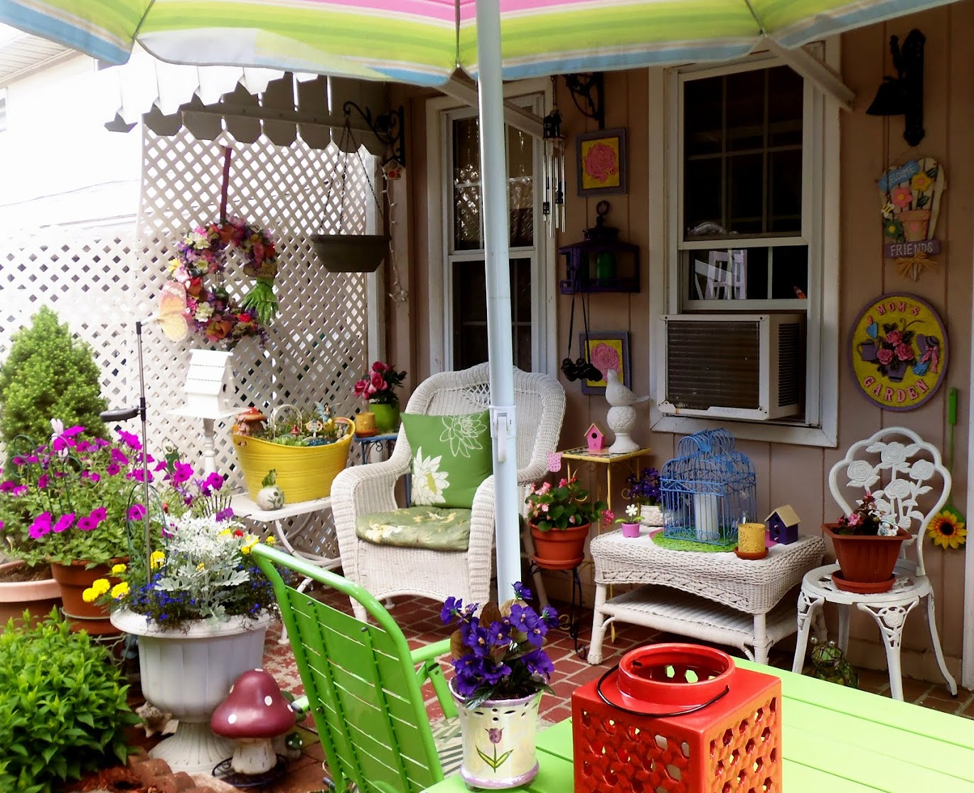 My Colorful Patio 2015, Part 1