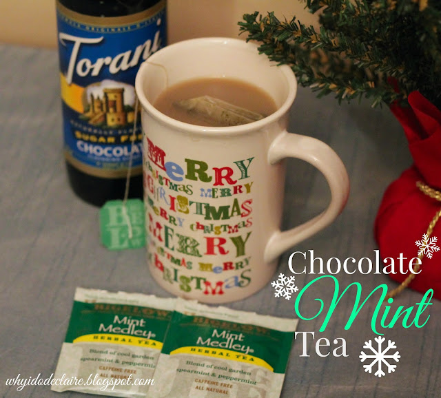 chocolate mint tea recipe