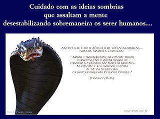 A Serpente e seu exército de ideias sombrias...
