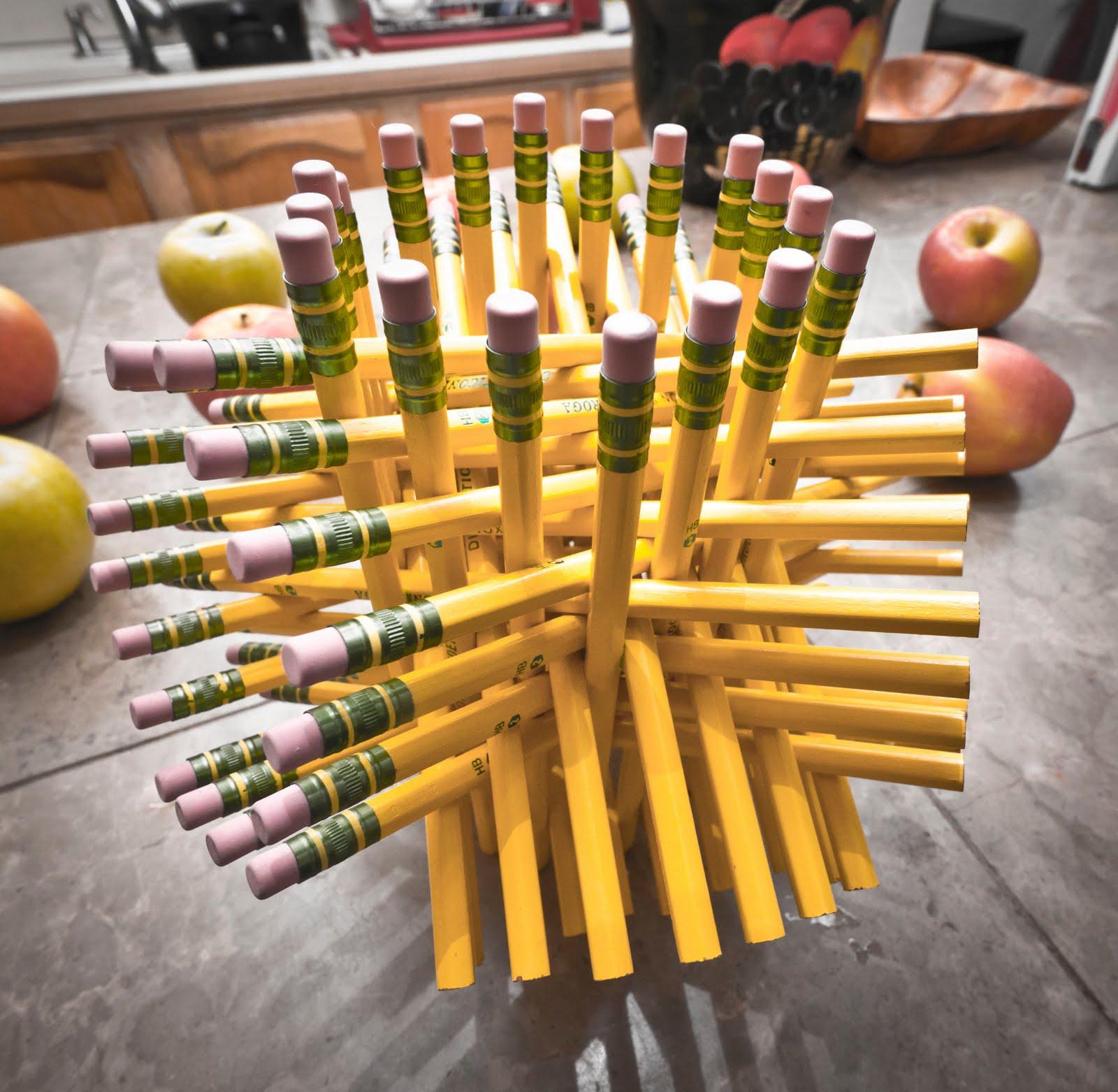 Предметы из карандашей своими руками
