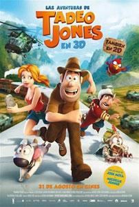 Poster original de Las aventuras de Tadeo Jones