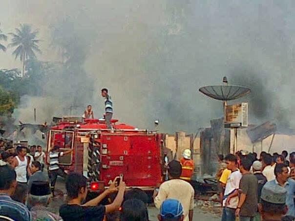 Puting Beliung dan Kebakaran Melanda Kota dan Kabupaten Padang Pariaman