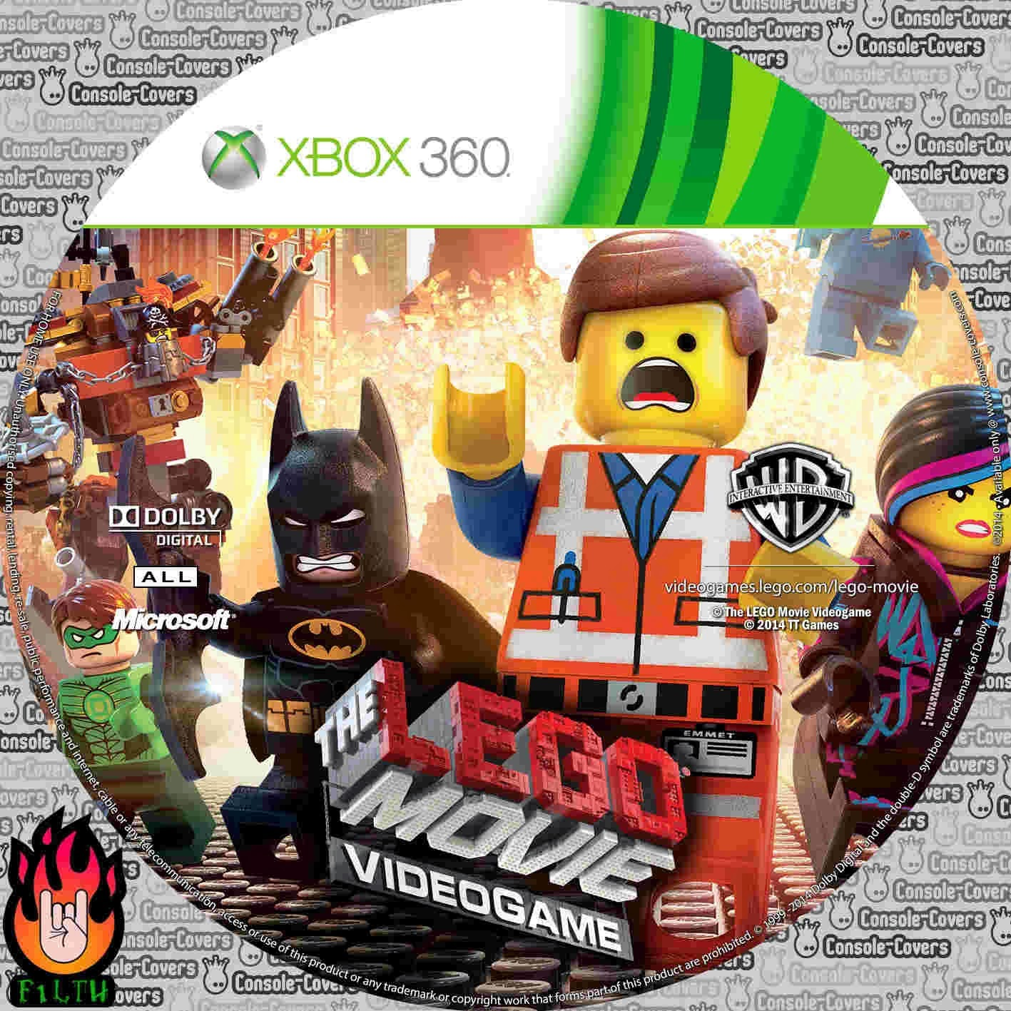 Capa The LEGO Movie Videogame XBOX 360