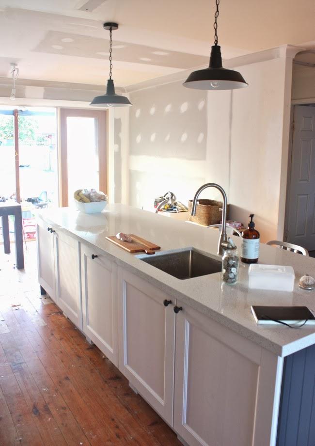Kitchen Renovation In Progress the happy home: the kitchen renovation: progress report