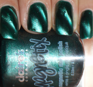 NOTD: Claire's Magnetix Green