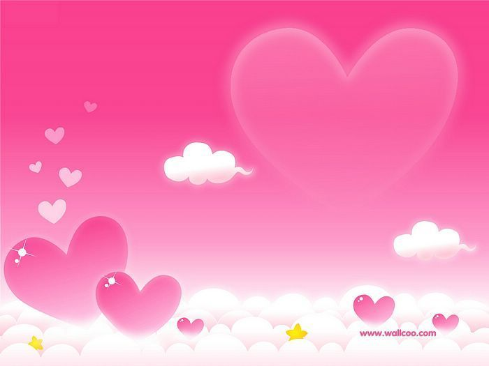 Touch My Heart: 25 Beautiful pink heart wallpapers