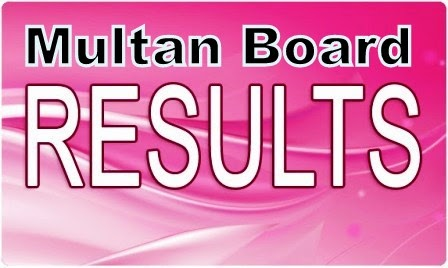 Multan board 8th result 2014