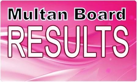 Multan board 8th result 2014