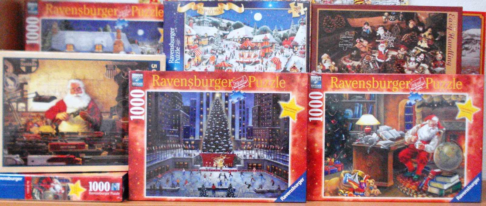 new arrivals christmas puzzles - Ravensburger Christmas Puzzles