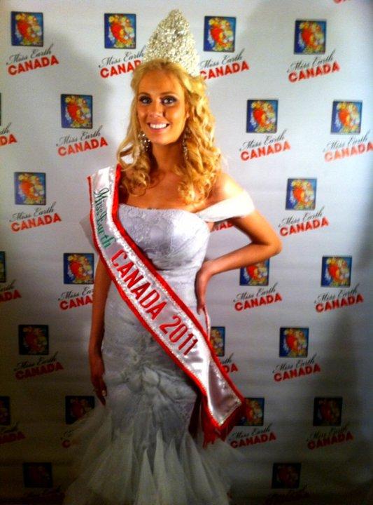 Ashlea Moor,Miss Earth Canada 2011