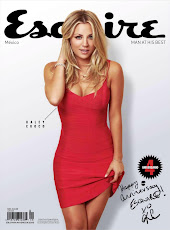 Kaley Cuoco en Esquire