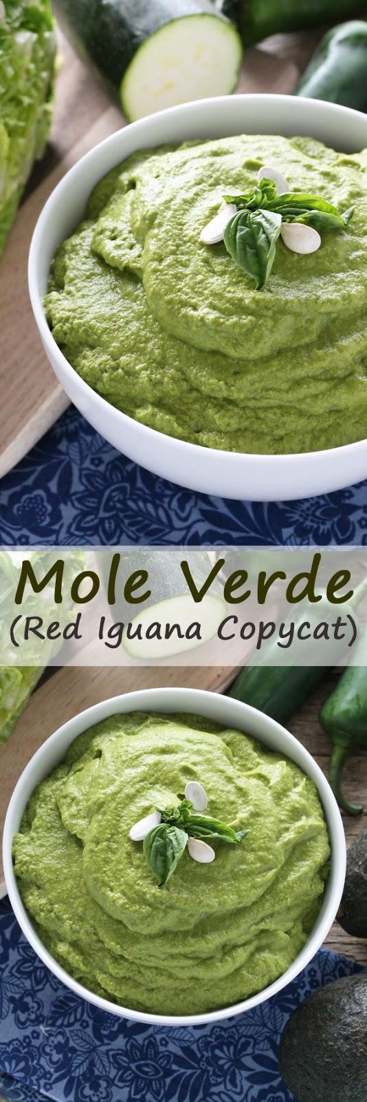 Mole Verde (Red Iguana Copycat)