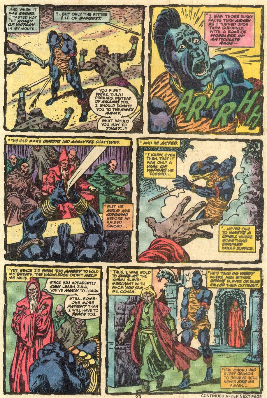 Conan the Barbarian (1970) Issue #85 #97 - English 14