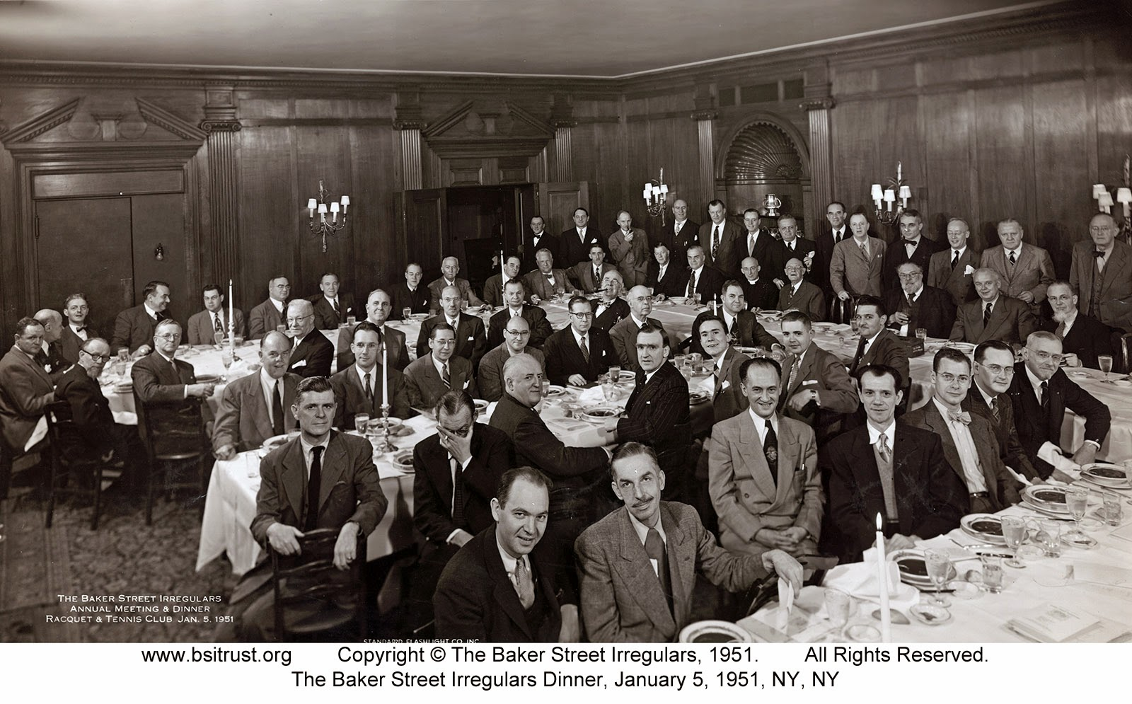 The 1951 BSI Dinner group photo
