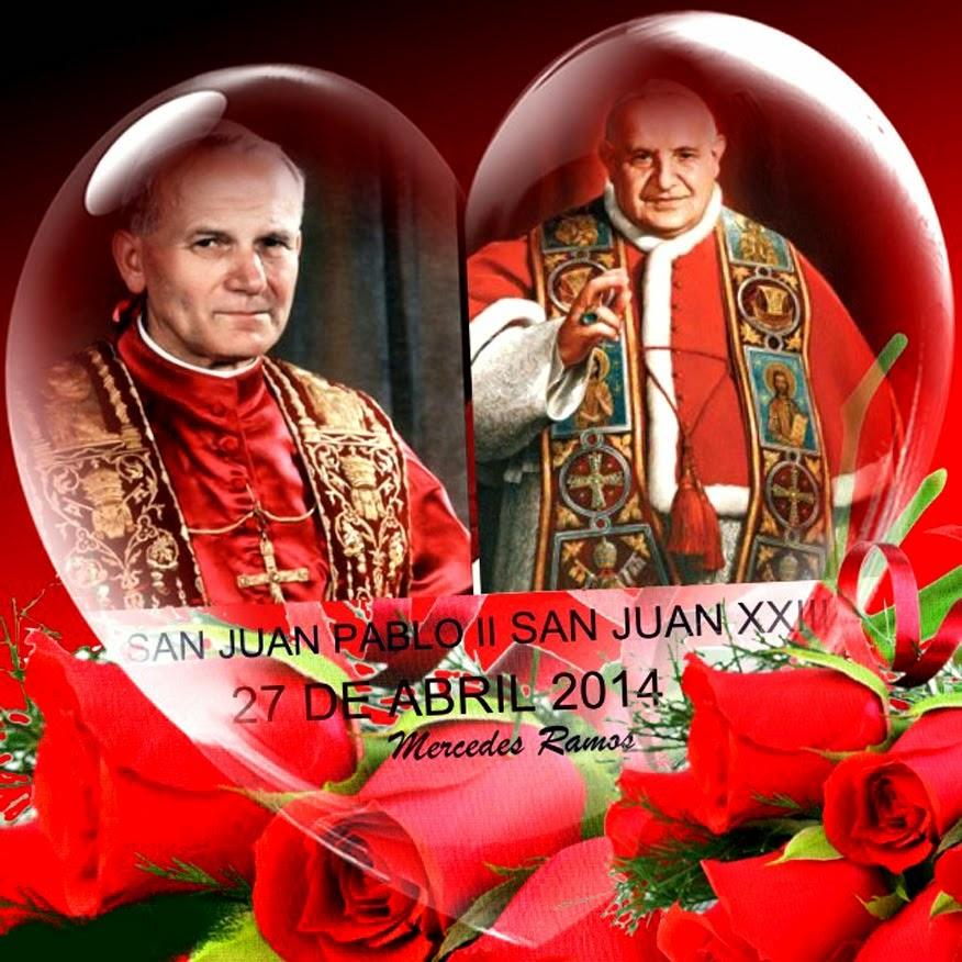 SAN JUAN  XXIII Y SAN JUAN PABLO II