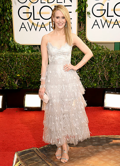 Sarah Paulson in Golden Globes 2014