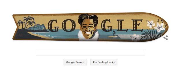 New Google Doodle Honors Duke Kahanamoku, the Father of Surfing