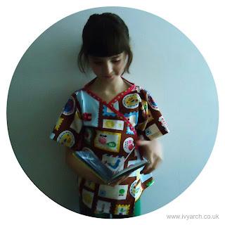 Habitual child's kimono