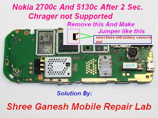 After 2 Second Nokia 2700 and 5130 Charger Not Supported Solution