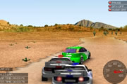 Yarış Arabaları 3D Yarışı Oyunu
