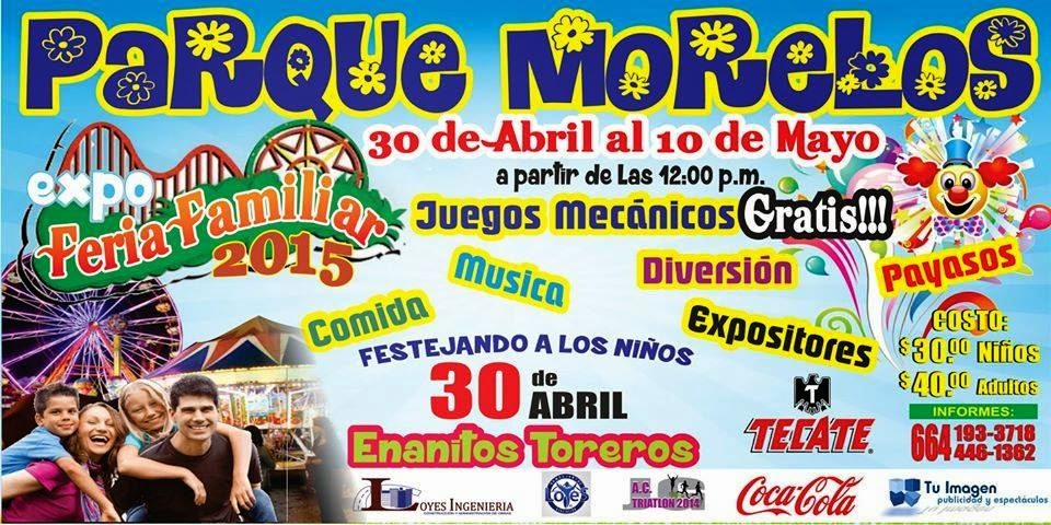 expo feria familiar tijuana 2015