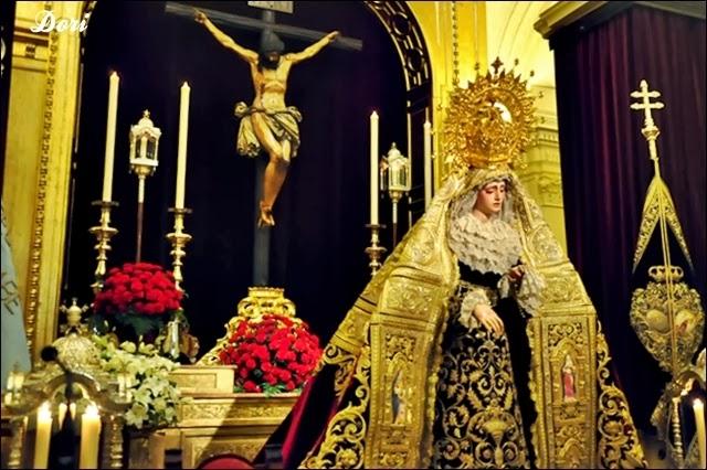 Besamanos Virgen de La Angustia 2014