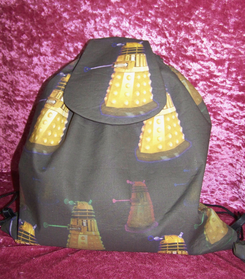 how to make a dr who backpack