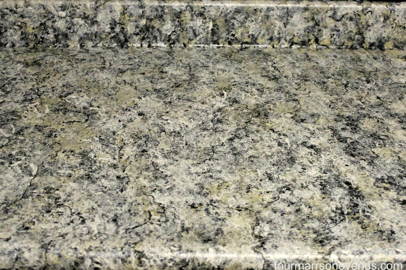 Four marrs and one venus kitchen update on a budget with for Giani granite
