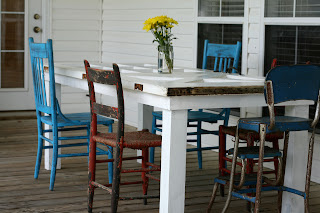 Old Doors Rock My World A Unique Outdoor Table