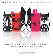 Lovin these adorableeeeeee Ipod cases by MARC by MARC JACOBS.
