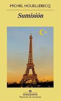 Ranking Mensual. Los 12 libros más vendidos. Sumisión, de Michel Houellebecq.