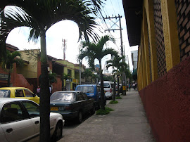 Walking through Envigado