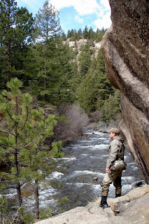 Colorado fly fishing reports april 2011 for Boulder creek fishing