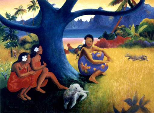 Paul Gauguin was born on 7 of june 1848, it was a post-impresionist ...