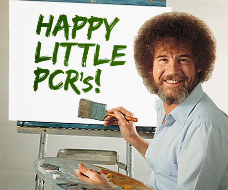 Paint a Picture of Happy Little PCR's!