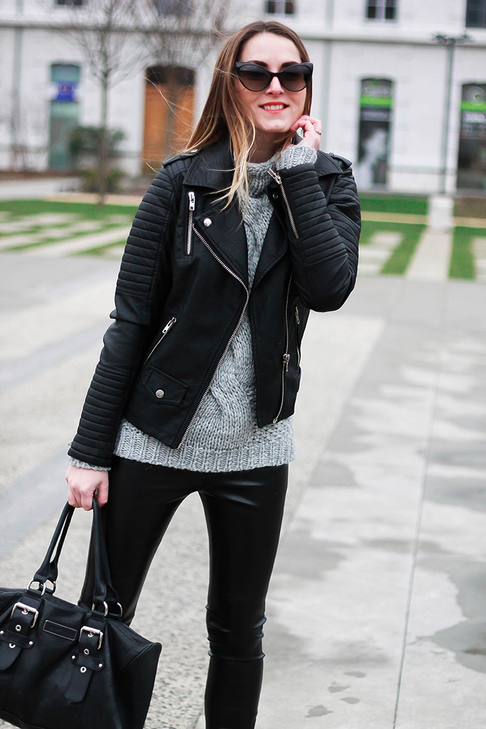 dr denim jeans leather