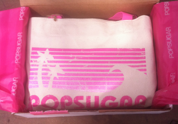 Pop Sugar Must Have Bag - July 2012 Review